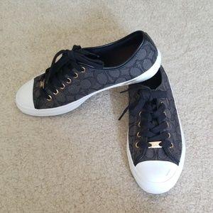 Coach Empire Monogram Sneakers 8.5